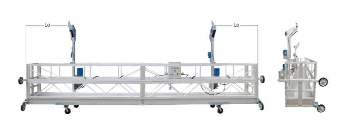 High Altitude Window Cleaning Platform Popular Climbing And Decorating Machinery